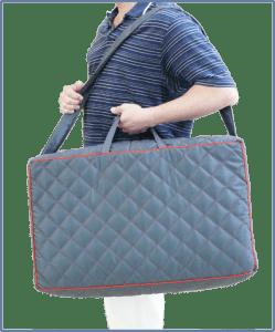 Tasche-modell-grau
