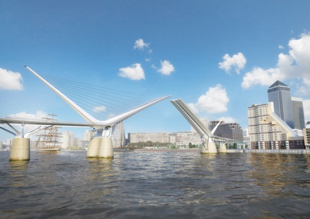 Reform Architects - Rotherhithe Pedestrian Bridge design