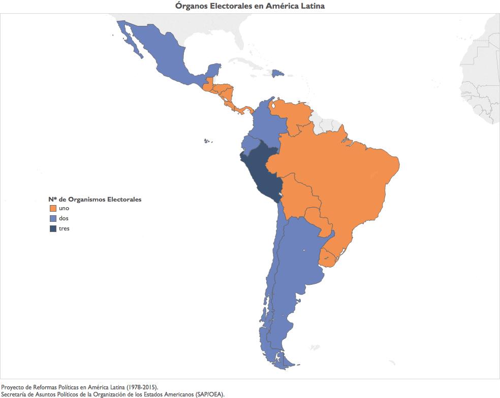 MapaOrganismosElectorales