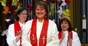 First Openly Lesbian Bishop in United Methodist Church Conducts Services in Salt Lake City
