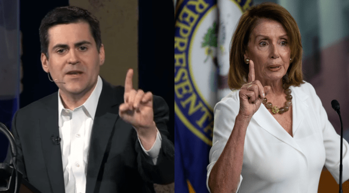 Nancy Pelosi and Russell Moore