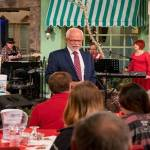 Relax: Jim Bakker has Armageddon covered, with buckets of pizza in the Ozarks