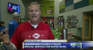 Church Turns Worship Service Into Superbowl Celebration