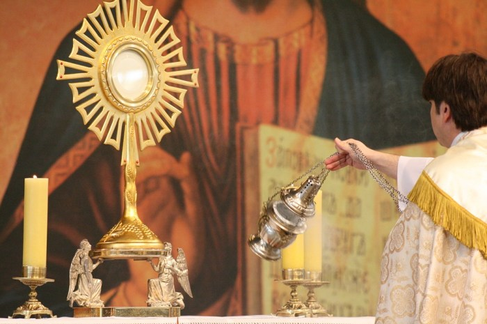 Catholic Eucharist - Transubstantiation