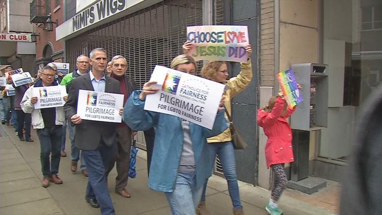 louisville gay catholic march
