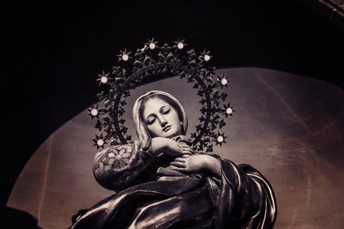 Catholic Mary Exaltation Perpetual Virginity