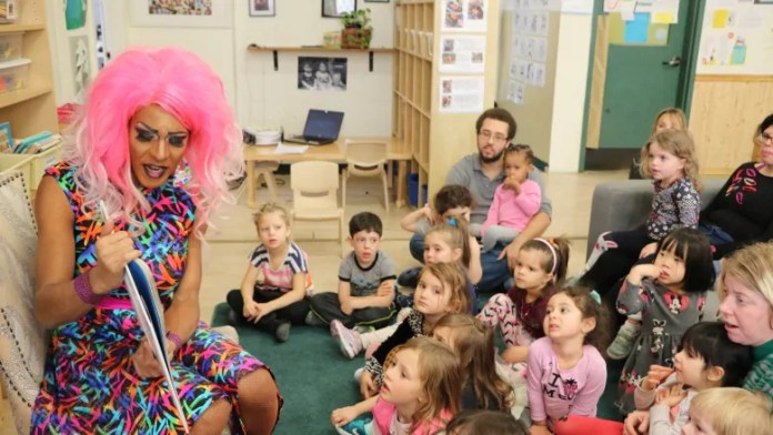 drag queen story hour daycare