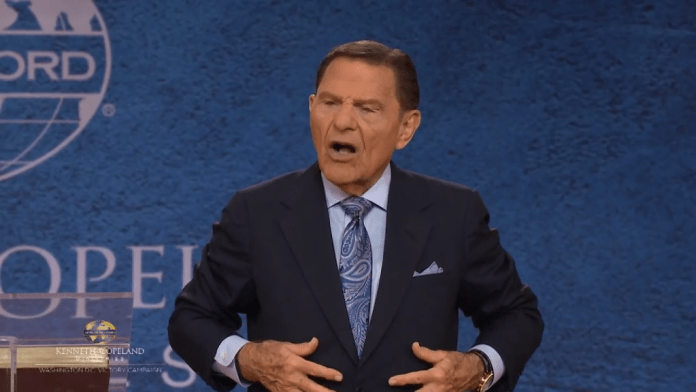 kenneth copeland calls his liver well