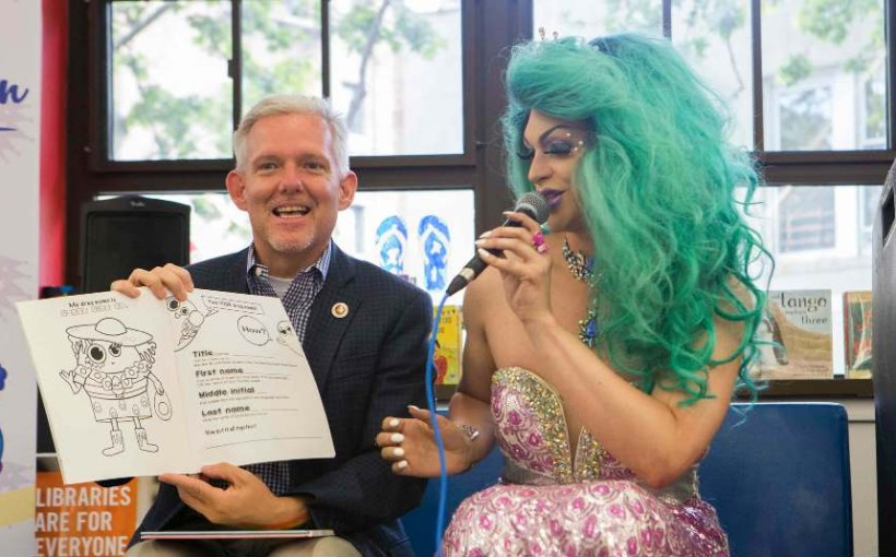 jimmy_van_bramer_ny_city_council_district_25 drag queen story hour