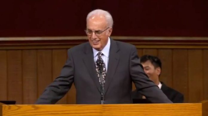 john macarthur welcome to our peaceful protest