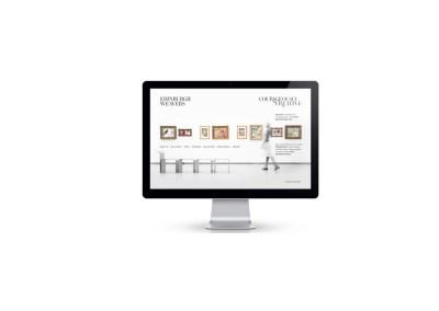Edinburgh Weavers. Product Website Design