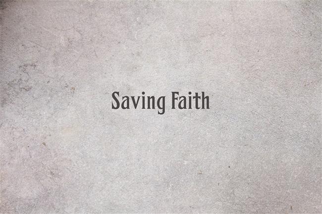 Saving-Faith