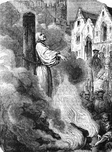 Cranmer in the fire