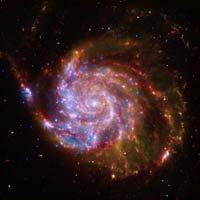 colored galaxy