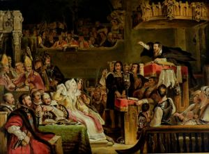 John Knox preaching before the Lords of the Congregation, 10th June, 1559