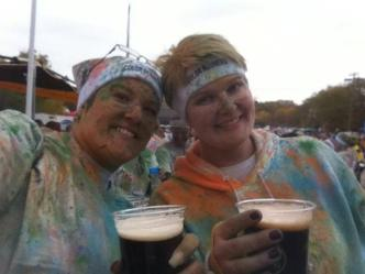 me joelle beer color run