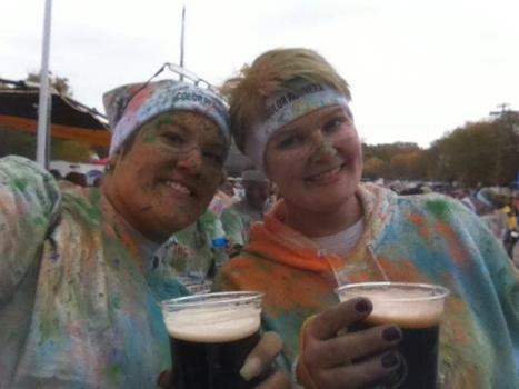 me joelle beer color run