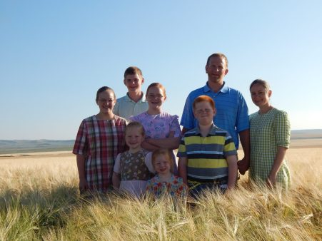 Jewel & Norvan Yoder Family