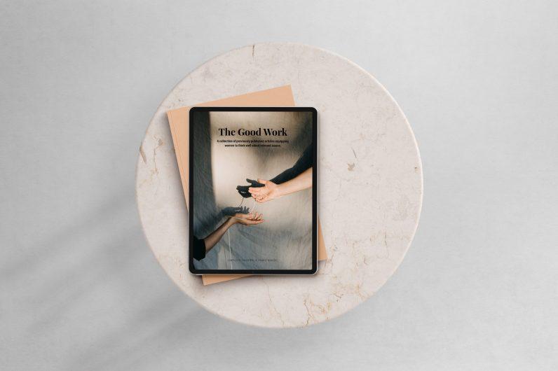 The Good Work iPad Cover