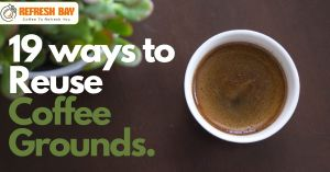 ways to reuse coffee grounds