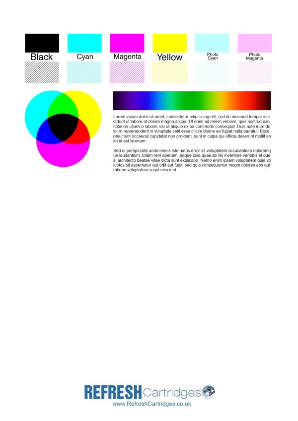 color print test page # 4