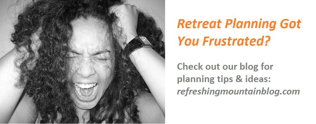Retreat Planning Banner