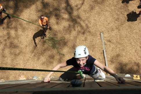Climbing Tower_Summer_Activities_Girl