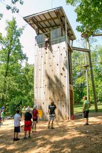 Climbing Tower_Kids_School Group_Activities