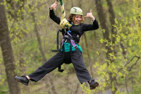 Challenge Adventure_High Ropes_Women_Activities