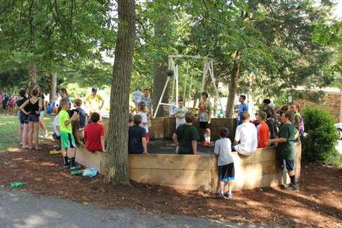 GaGa Pit Summer Group Recreation