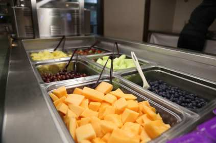 Breakfast Dining Hall Buffet