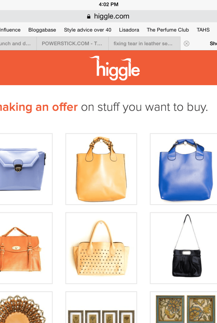 Refreshing review: Higgle.com