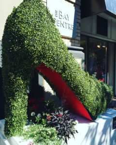 Quite a large Louboutin in Victoria, BC!