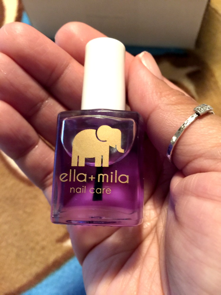 This cuticle oil from Ella Mila is nourishing to my nails and smells delightful!