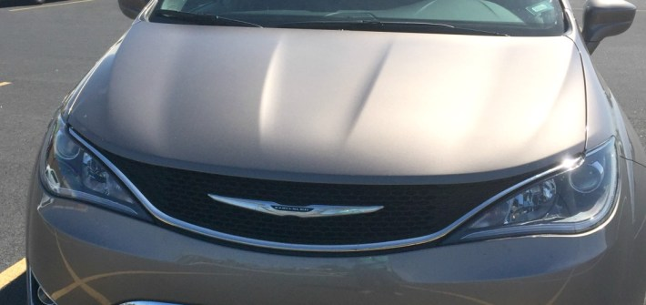 Chrysler pacifica is a sporty and roomy minivan