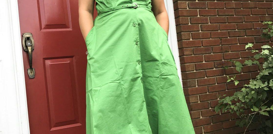 I needed a dress. I found one...that fits me like a glove!