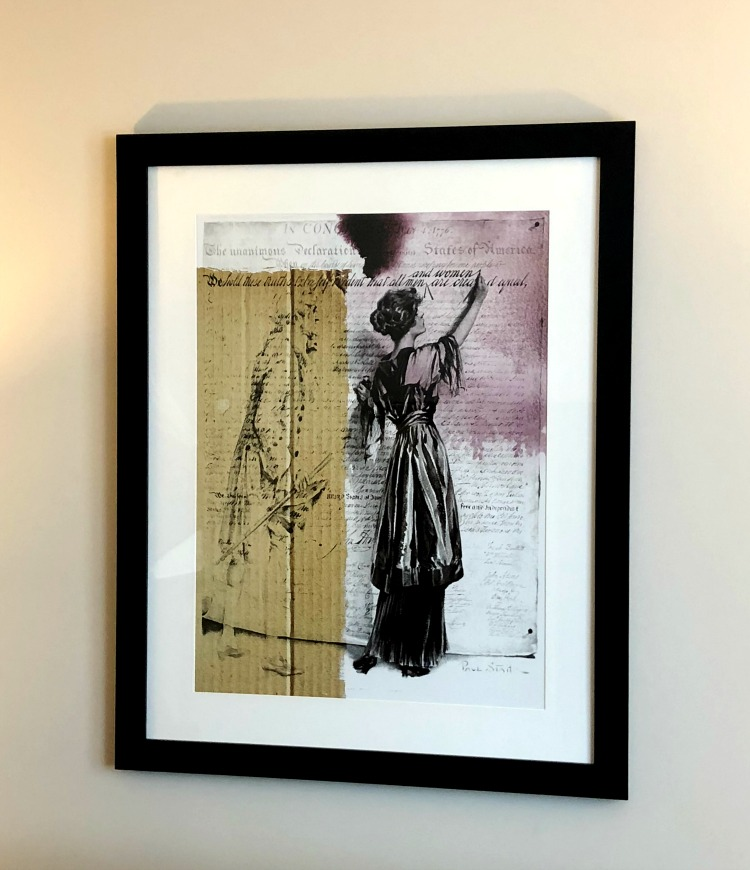 Artwork is displayed throughout the rooms in Hotel Madison.