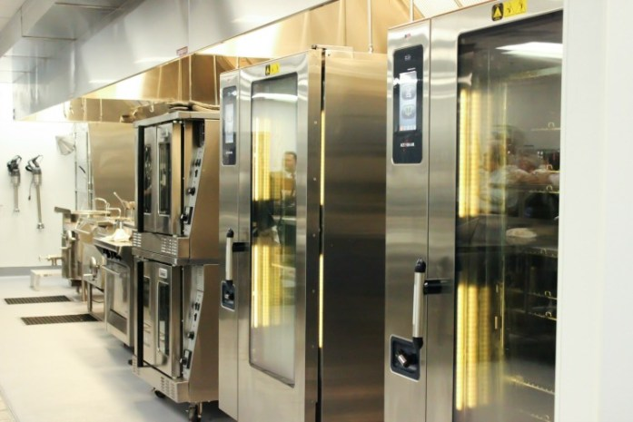 Hotel Madison boasts a state-of-the-art kitchen facility.