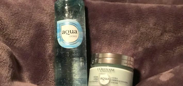 Aqua Reotier Primer and Cream