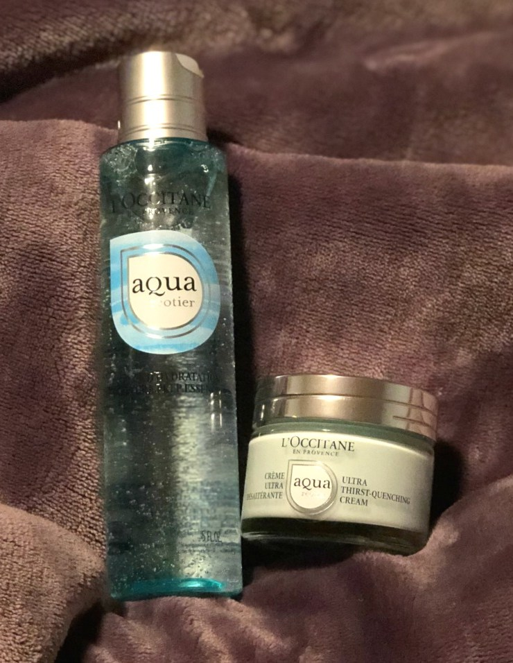 Aqua Reotier Primer and Cream