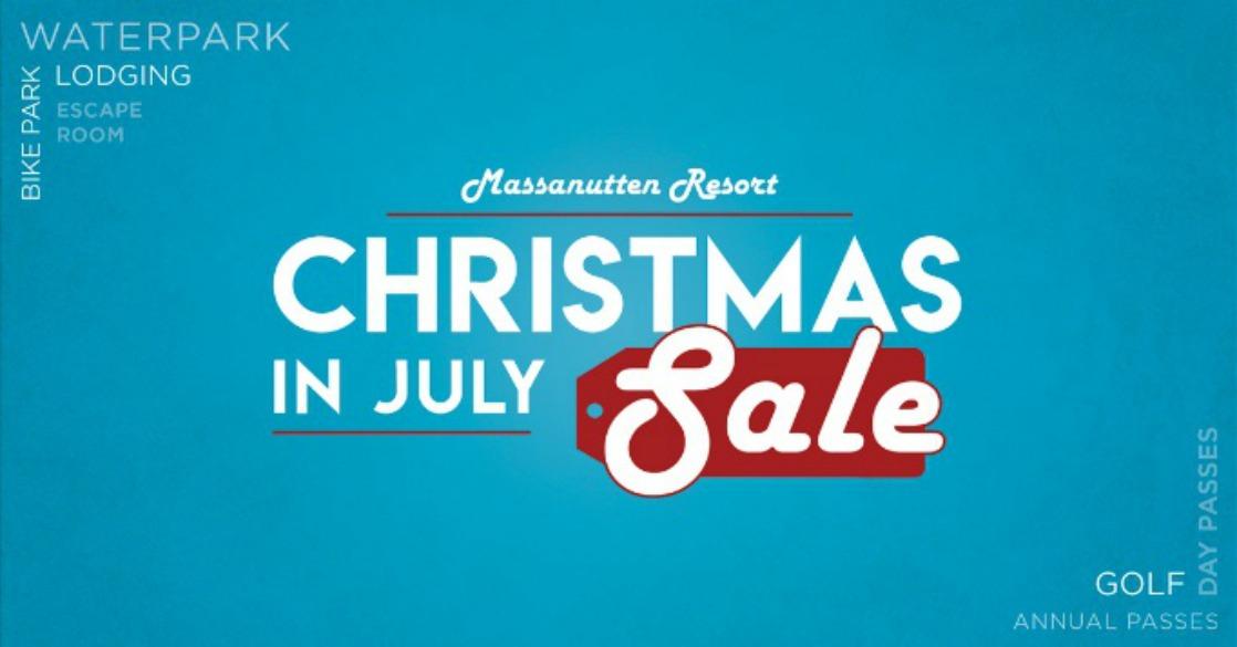 Massanutten Resort's Christmas in July Sale is here!