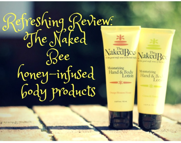 A rich and nourishing Naked Bee hand and body lotion!