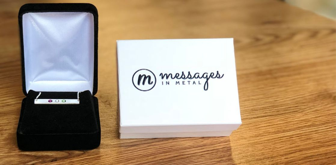 Messages in Metal arrives in sophisticated wrapping and presentation!