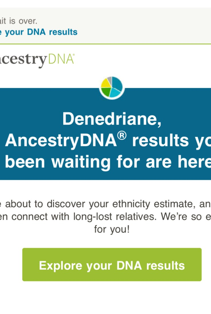 My Ancestry.com Journey, Pt 3: The Results are in!