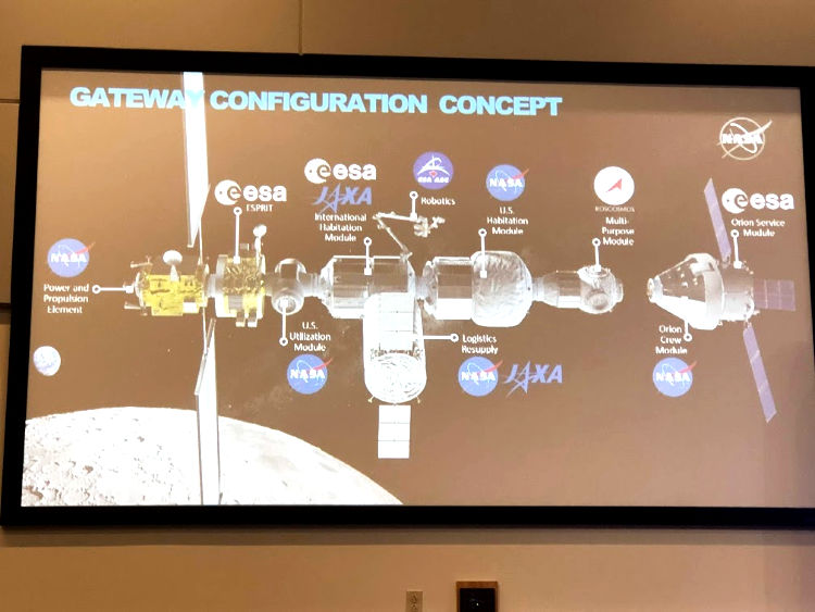 The proposed Gateway for the next steps back to the Moon and on to Mars!