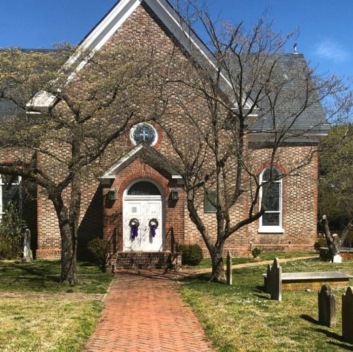 St. John's Church in downtown Hampton, VA Photo credit: Dee Dean