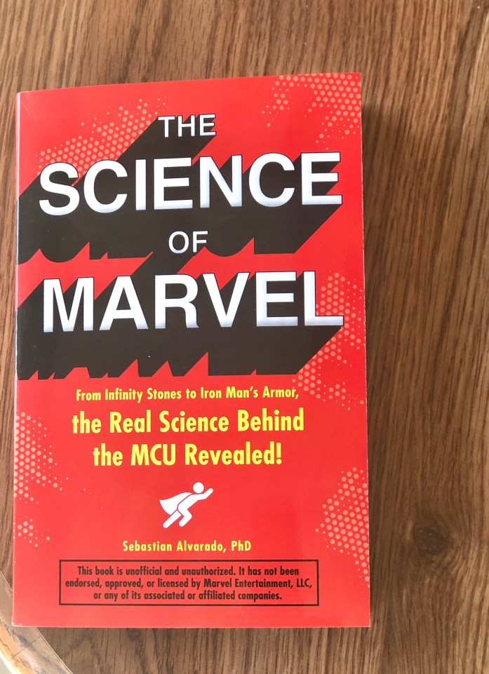 The Science of Marvel Photo credit: Dee Dean
