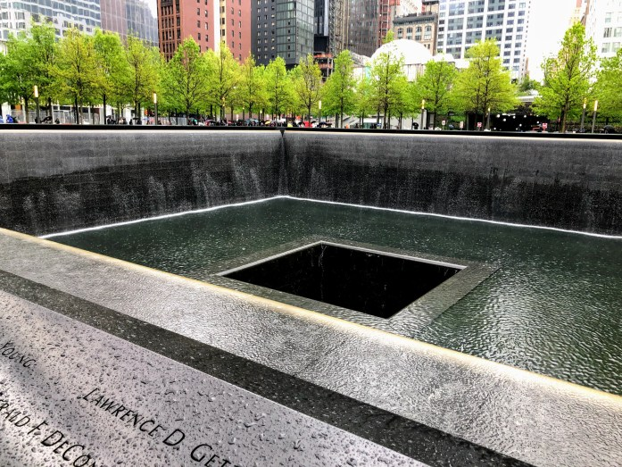 A visit to the 9/11 Museum and the 9/11 Memorial. Powerful. Photo credit: Dee Dean