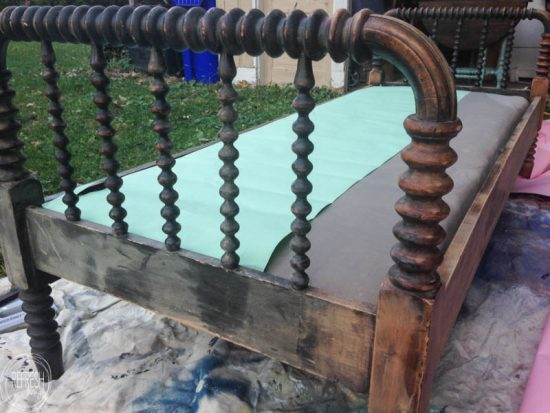 Painted Antique Bed 5