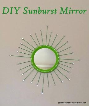 DIY Sunburst Mirror-8
